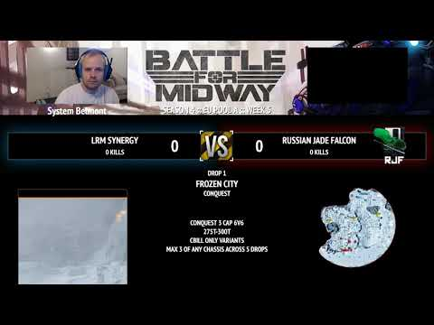 BFM - Week 5, EU Div A, Lrm Synergy vs Russian Jade Falcon