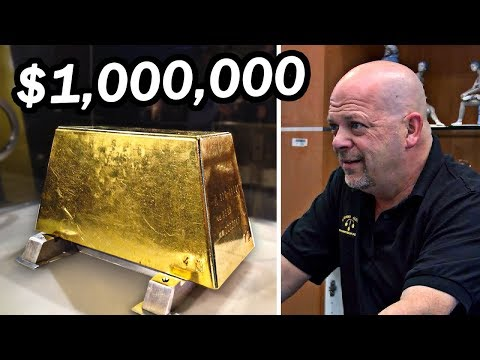 15 Most Expensive Buys On Pawn Stars (видео)