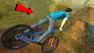 Stupid Guy Tries Downhill Mountain Biking - Shred 2