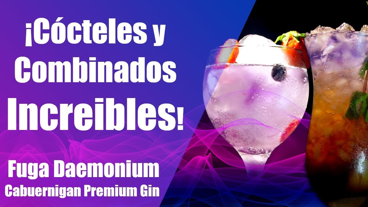 ¿Qué se puede hacer con Chrysalis Gin?   CÓCTELES   COMBINADOS   FUGA DAEMONIUM CHRYSALIS GIN