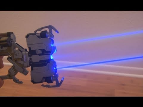 Build Your Own Dead Space Laser That Can Actually Burn