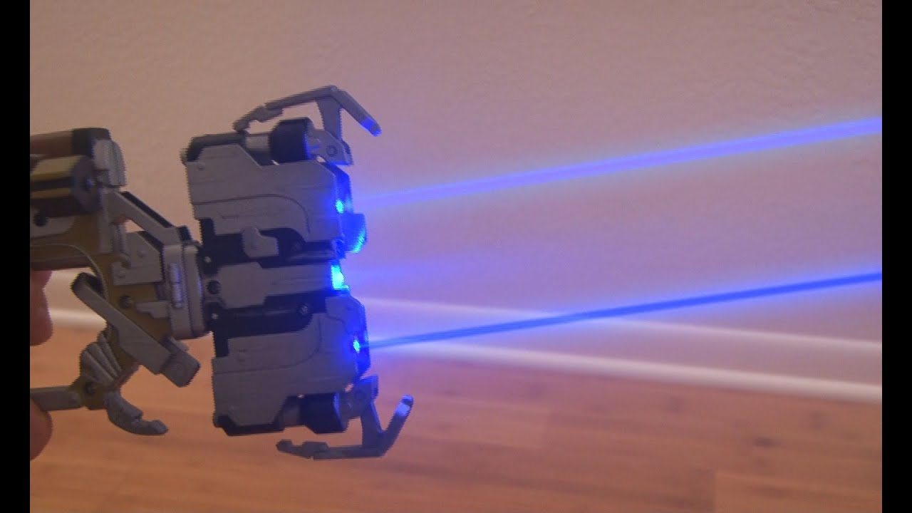 Build Your Own Dead Space Laser (That Can Actually Burn Stuff)