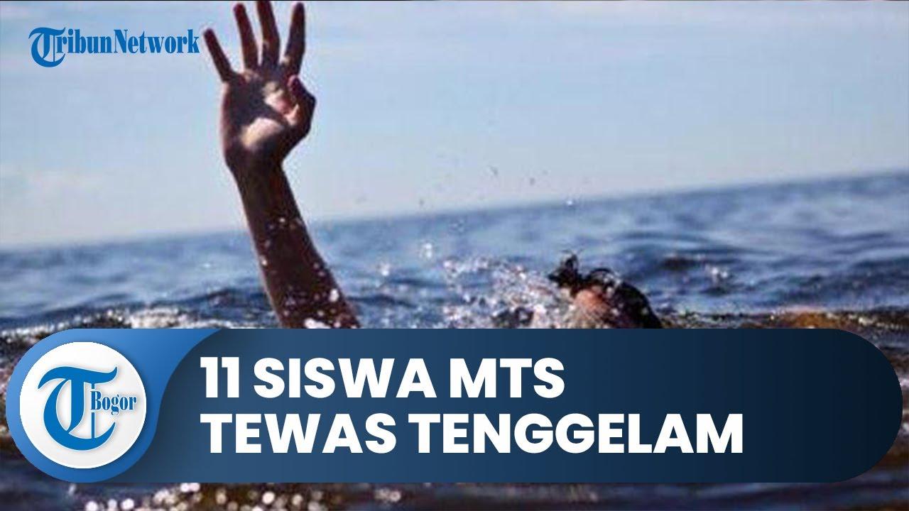 11 Siswa MTS Tewas Tenggelam saat Susur Sungai, Kondisi Sungai Tidak Deras dan Cenderung Tenang