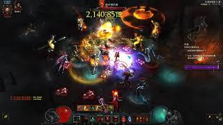 Diablo III 2.6 死靈法師血槍流單人101層突破 !!