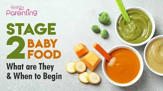 Stage 2 Baby Foods – What They Are & When to Begin