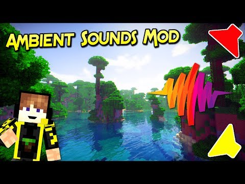 Ambient Sounds Mod  | Sonidos Realistas Para Tu Aventura | Minecraft 1.12.2 – 1.9.4 | Review Español