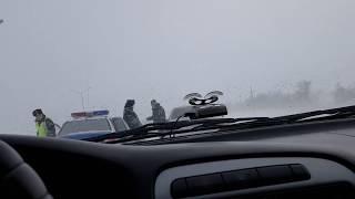 Дтп 1.01.2016г г.Актобе на трассе возле п.Курайлы