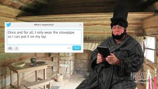 Tweets of the Rich & Famous: Abe Lincoln #1