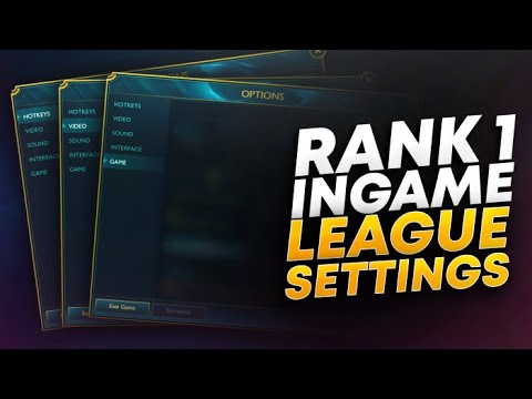 4 Times Rank 1 Player's Settings & Hotkeys | League of Legends