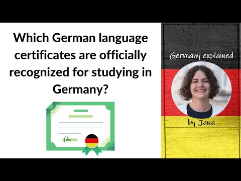 Studying in Germany: Which German language certificate do I need ...