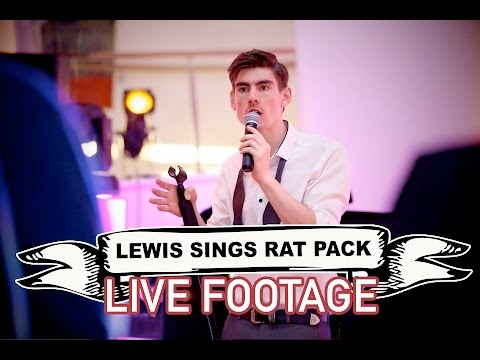 Lewis Sings Rat Pack Video