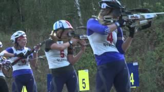 Biathlon. Ukrainian National Summer championships. Pursuit women
