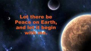 Let There be Peace on Earth - Sing Along