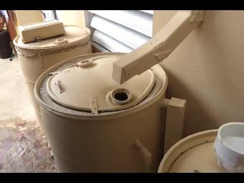 RAIN BARREL - Reciclado de lluvia- Recolección de lluvia - Barril para almacenamiento de Lluvia