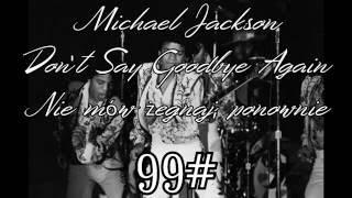 Jackson 5 - Don't Say Goodbye Again (1973) napisy PL !61