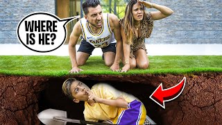 HIDING FROM MY PARENTS AT HOME! (THEY FREAKED OUT) | The Royalty Family