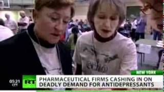 United States leads world in taking psychotropic drugs