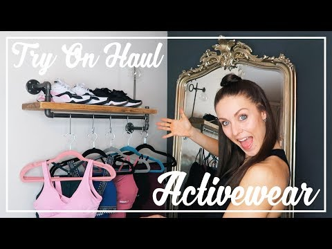 Activewear TRY ON & TEST OUT Haul | Puma, Nike, Gymshark!