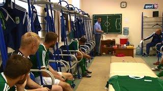 Разбор игры в перерыве футбольного матча «по-новокузнецки»