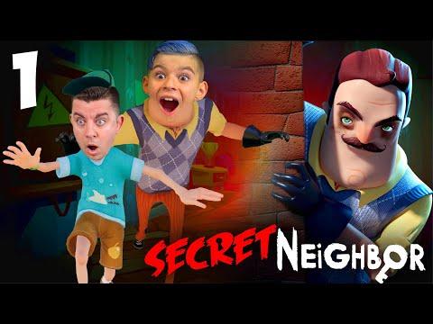 BREAKING INTO THE SECRET NEIGHBORS BASEMENT! Hello Neighbor Secret Neighbor Gameplay #1