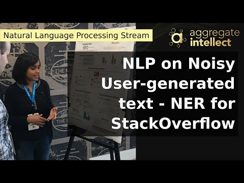 NLP on Noisy User-generated text - NER for StackOverflow