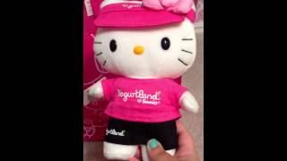 Yogurtland X Hello kitty Collaboration
