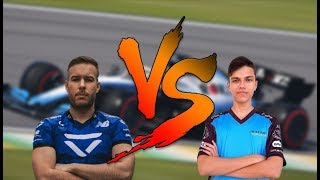 1 v 1 Against a Future Esports Driver (Michael Romanidis)