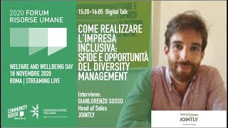 Youtube: Digital Talk | COME REALIZZARE L'IMPRESA INCLUSIVA: SFIDE E OPPORTUNITÀ DEL DIVERSITY MANAGEMENT