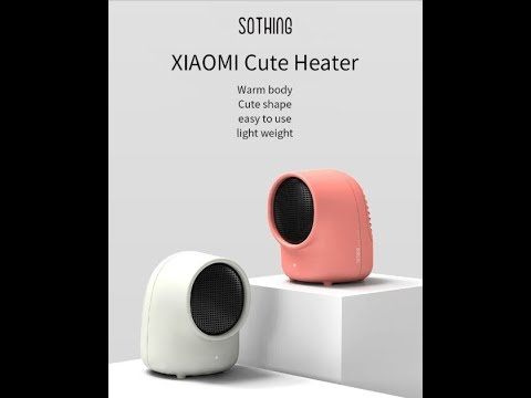 Το Ζεστό Μωρό Της Xiaomi... XIAOMI SOTHING Mini Warmbaby Fan Heater