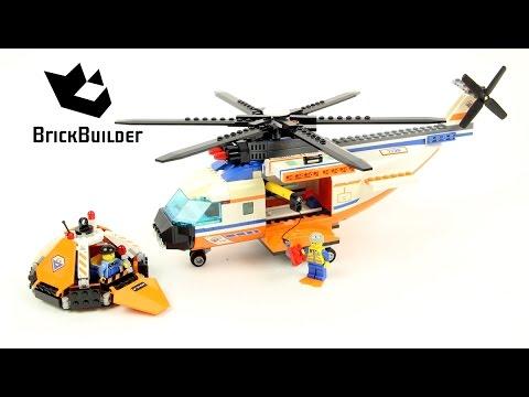 Vidéo LEGO City 7738 : L'hélicoptère et le canot de sauvetage des garde-côtes