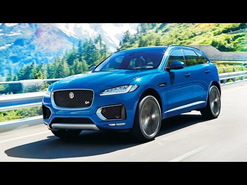 Jaguar F-Pace revealed at Frankfurt IAA2015