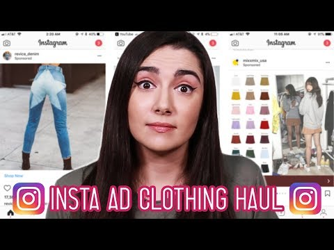 I Bought An Entire Outfit From Instagram Ads