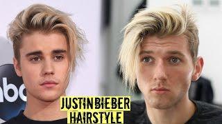 Justin Bieber Hairstyle & Haircut Tutorial 2017 - Mens Long Hair Style