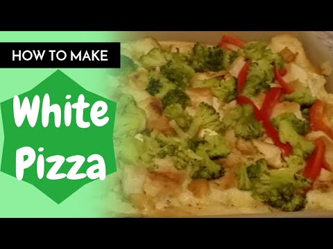 White Pizza Sauce Recipe That Is Out Off This World / Rebecca's Kitchen / Deep Emerald TV