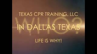CPR Training Classes Dallas Fort Worth - Texas CPR