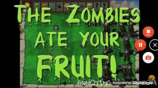 Annoying Orange Vs Plants Vs Zombies: (FULL VIDEO) (MOST VIEWED VIDEO FOR INTENTIONALLY NO REASON)