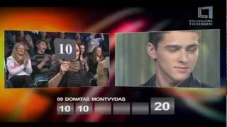 "«Eurovision 2012» Donny Montell (Donatas Montvydas) - ""Love is blind"" #1"