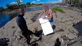 Rescued Man From DANGEROUS Situation in River.. - Video Youtube