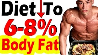 How To Diet To Get to 6% 7% or 8% Body Fat ➠ Kinobody Macgregor Alderton Dexa Lose Belly Fat Percent