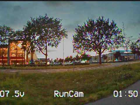 Uneditted Low Light DVR recording of the Runcam Eagle 2 Pro