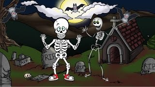 Las Calaveras Salen de Su Tumba Chumbala Cachumbala - Canciones Infantiles de Halloween