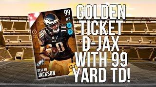 New God Squad Debut! Golden Ticket D-Jax w/99 Yard TD!  ::-XBOX ONE Madden 16 Ultimate Team