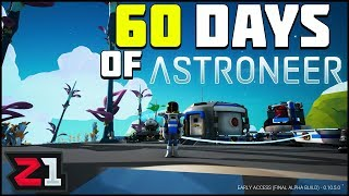 60 Days of Astroneer Base Preperations Ep.0 Astroneer Gameplay | Z1 Gaming