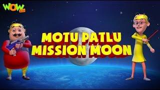 Motu Patlu Cartoons In Hindi |  Animated Movie | Motu Patlu Mission Moon | Wow Kidz