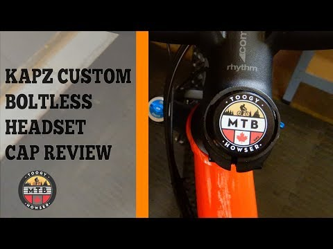 KAPZ Custom MTB Boltless Headset Cap review