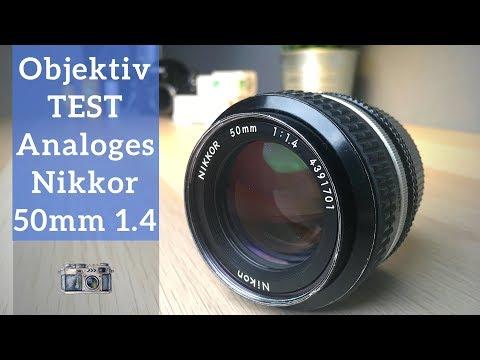 Nikon 50mm 1.4 TEST REVIEW I Analoge Objektive an Digitalkameras