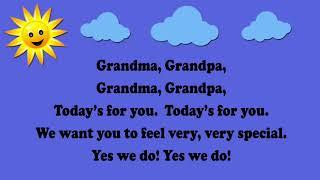 Grandma, Grandpa Grandparents Day Song   Aka Are You Sleeping - Thrissur Time Kids - 2017