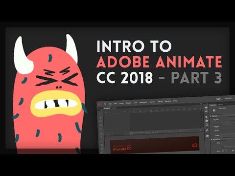Intro to Adobe Animate CC 2018 [3/4]   Tutorial