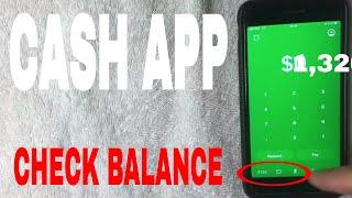 ✅  How To Check Cash App Balance 🔴