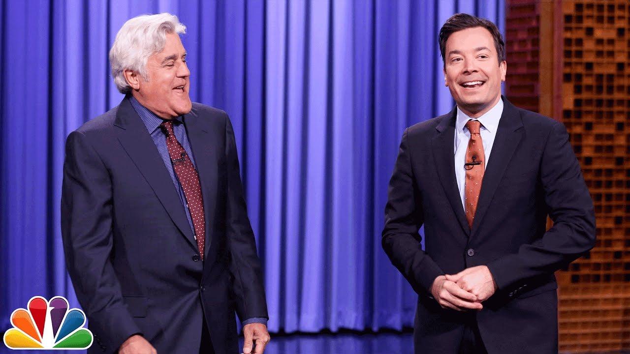 Jay Leno Tags In to Tell Tonight Show Monologue Jokes thumbnail
